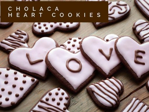 Cholaca Heart Cookies