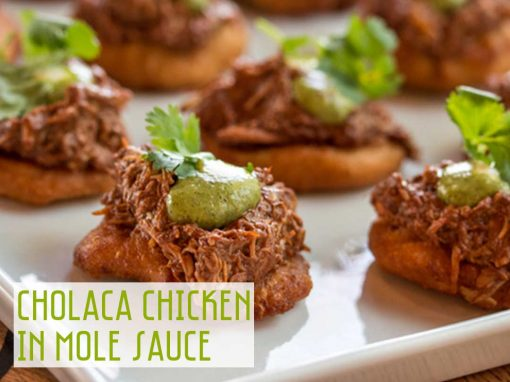 Cholaca Chicken in Mole Sauce
