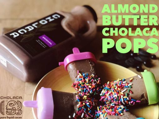 Almond Butter Cholaca Pops