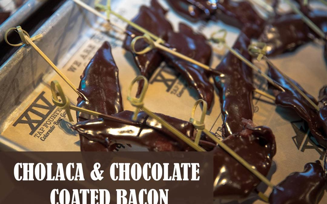 Cholaca & Chocolate Coated Bacon