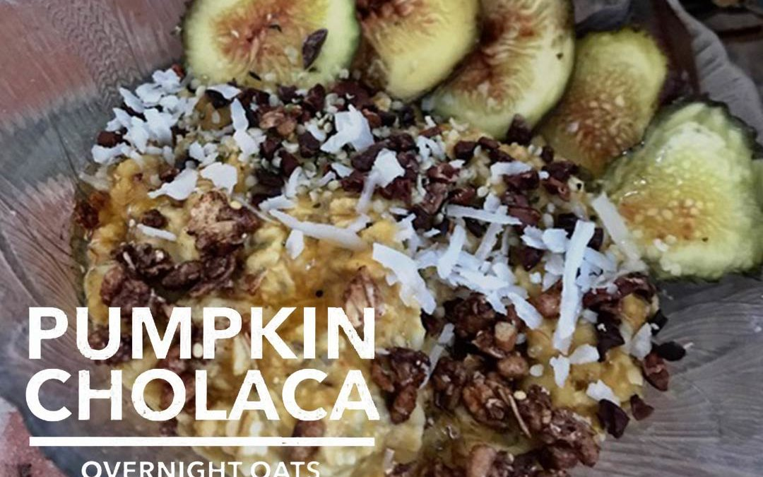Pumpkin Cholaca Overnight Oats