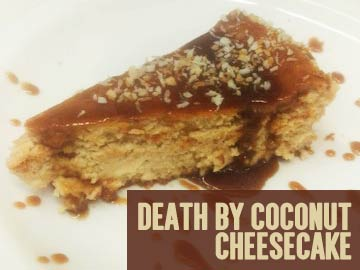 Death by Coconut Cheesecake
