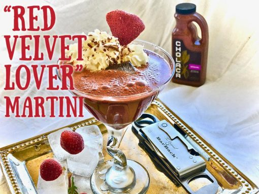 "Cholaca ""Red Velvet Lover"" Martini"