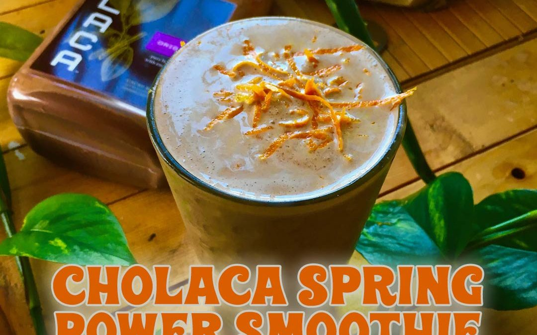 Cholaca Spring Power Smoothie