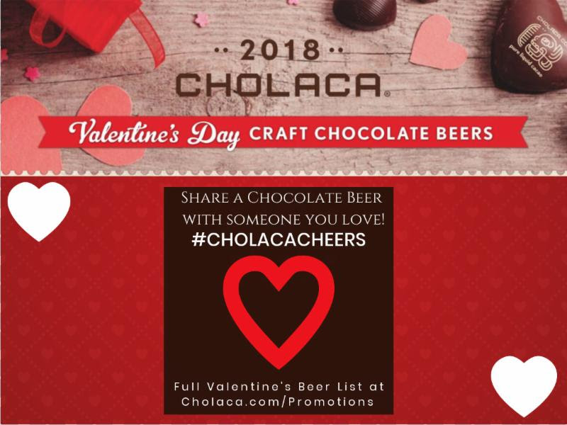 Head Over Heels for Chocolate Beer!