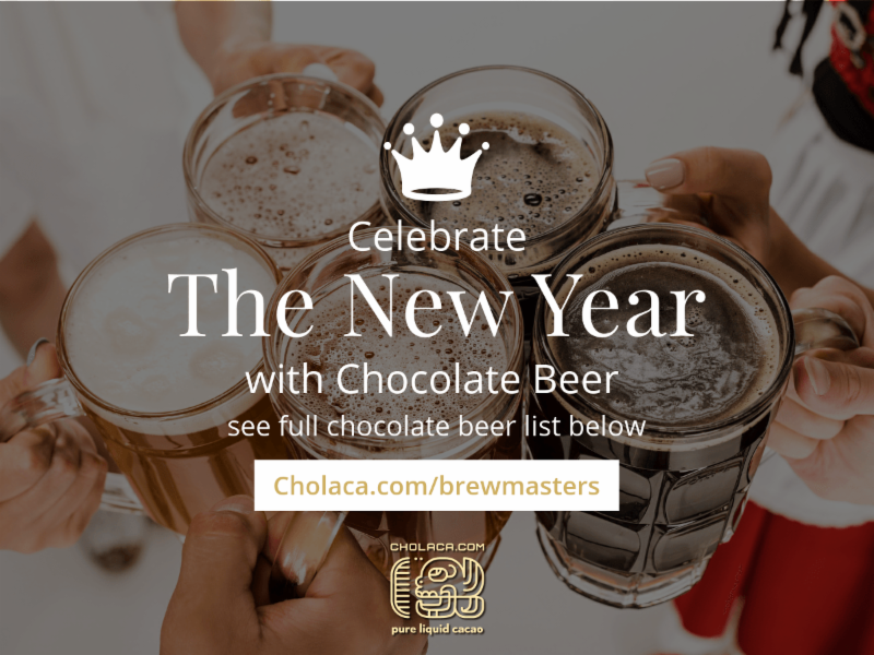 Celebrate the New Year with Chocolate Beer