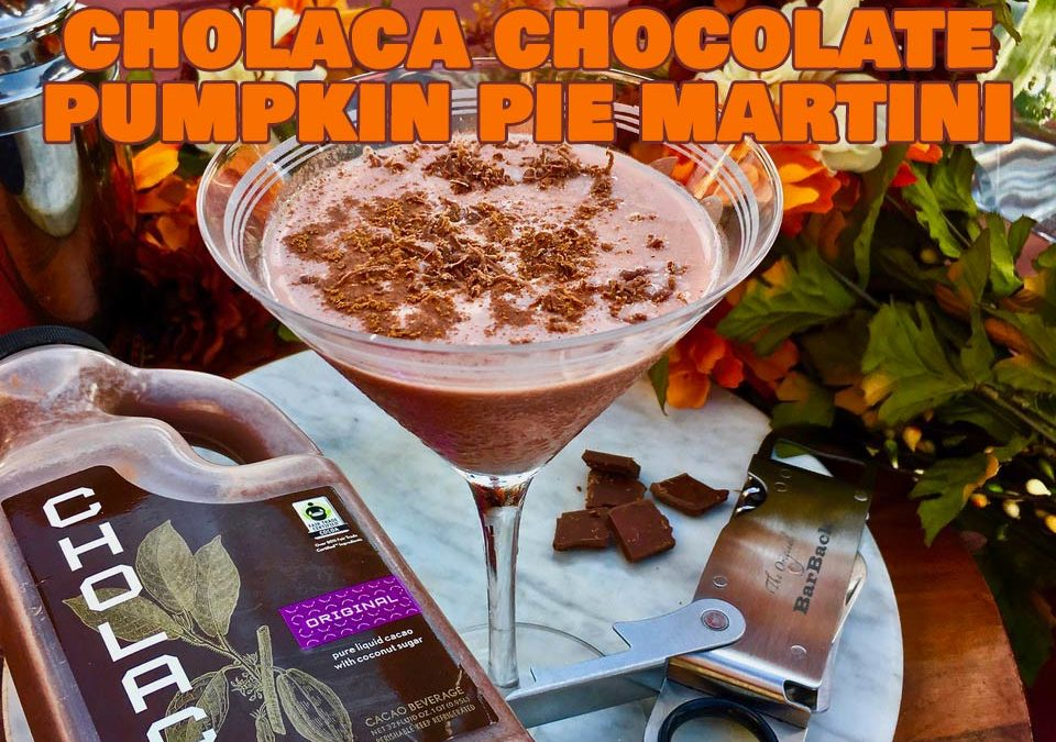 "Cholaca ""Chocolate-Pumpkin-Pie"" Martini"
