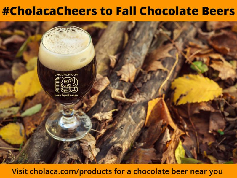 #CholacaCheers to Fall Chocolate Beers