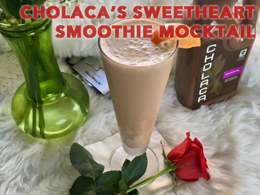 Cholaca's Sweetheart Smoothie Mocktail