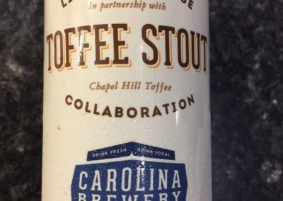 Carolina Brewery - Toffee Stout