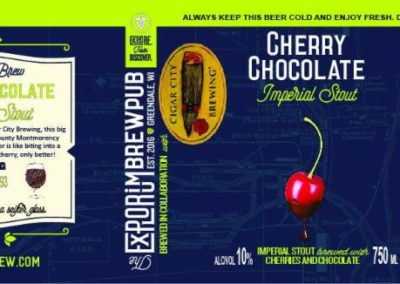 Explorium - Cherry Chocolate Stout