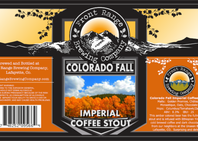 Front Range Brewing - Colorado Fall Coffee Stout