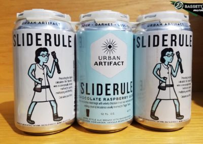 Urban Artifact Brewery - Sliderule Chocolate Raspberry Gose