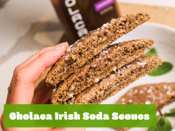 chocolate irish scones - liquid cacao recipes
